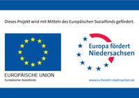 Rosenhof Bohlsen - Logo: Europa fördert Niedersachsen